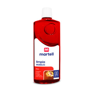 Limpia muebles rojo 260 ml. Martell