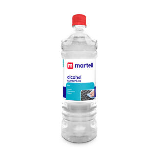 Alcohol isopropílico 900ml. Martell